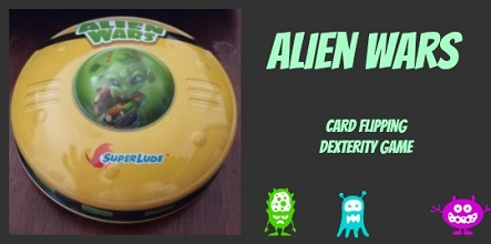 Alien Wars Card Flipping Game - What Game Do You Want To Play?